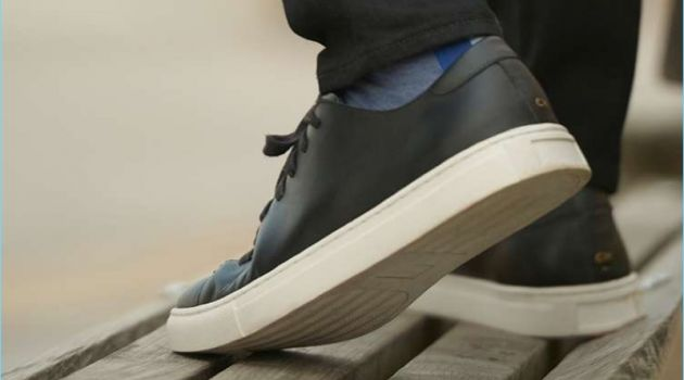 Walk This Way: Club Monaco Introduces Leather Sneakers