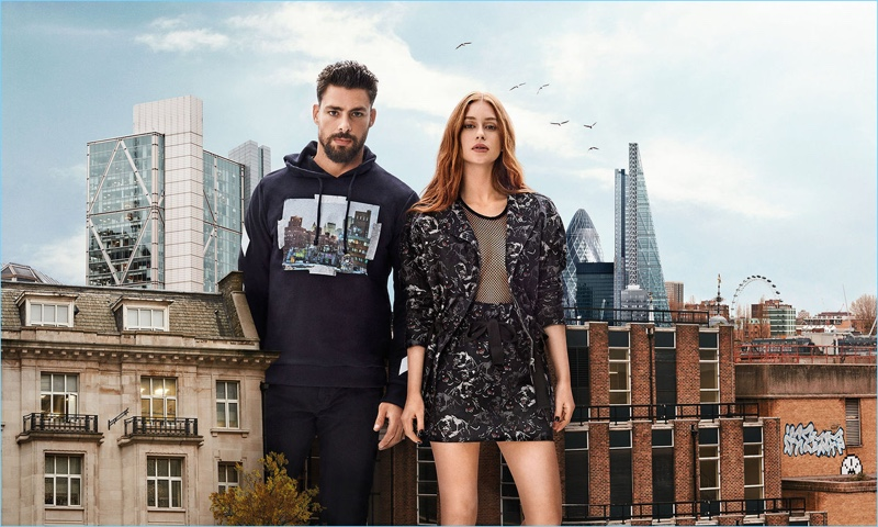 Brazilian brand Colcci taps Cauã Reymond and Marina Ruy Barbosa for its fall-winter 2018 campaign.