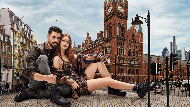 Colcci enlists Cauã Reymond and Marina Ruy Barbosa as the stars of its fall-winter 2018 campaign.