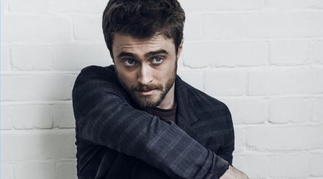 British actor Daniel Radcliffe poses for a new style shoot.
