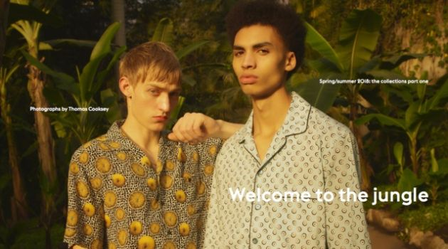 Dylan Moran & Sol Goss Model Spring '18 Collections for Esquire UK