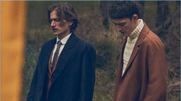 Otto Lotz & Jonas Jacobsen Don Classic Menswear for Euroman
