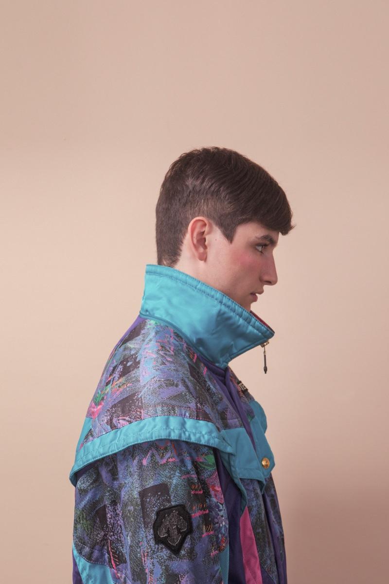 Vitor wears jacket stylist's own.