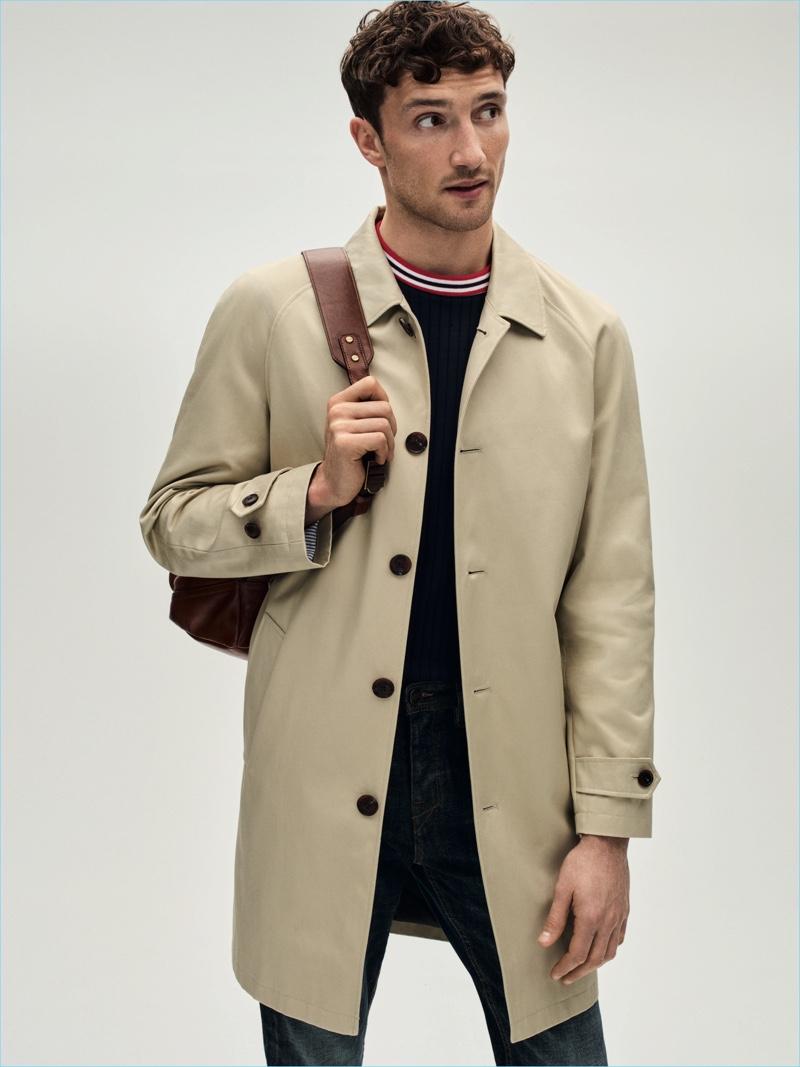 Jacket £150 Turner & Sanderson T-Shirt £70 Libertine Jeans £40 Criminal Backpack £695 Coach at House of Fraser