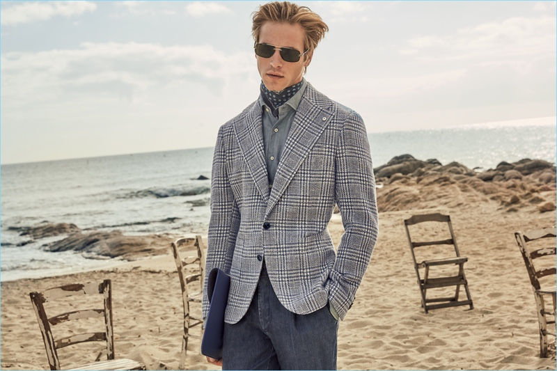 L.B.M. 1911 enlists Jules Raynal as the face of its spring-summer 2018 collection.