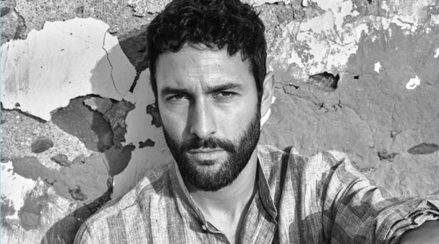 Noah Mills Dons Relaxed Style for Mango Spring '18 Campaign
