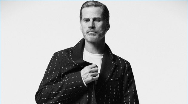 Mark Vanderloo Dons Minimal Style for Esquire España
