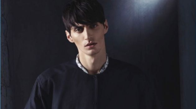 Mihai Bran Dons Dark Fashions for Esquire Turkey