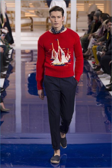 Ralph Lauren Goes Nautical for Spring '18 Collection