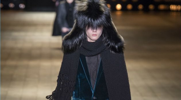 Saint Laurent Paints Dark Picture with Fall '18 Collection