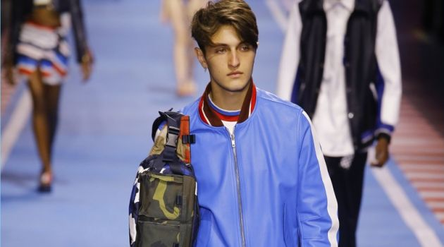 Tommy Hilfiger Brings Racing Spirit to Milan with Spring '18 Collection
