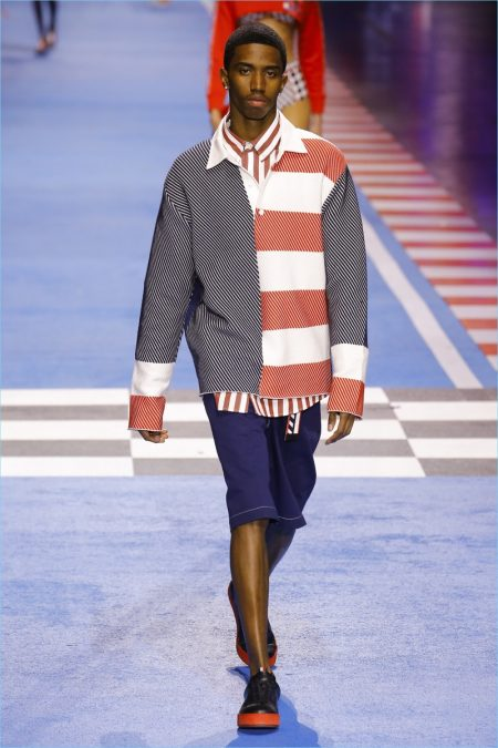 2d1ee7ae Tommy Hilfiger Brings Racing Spirit to Milan with Spring '18 Collection