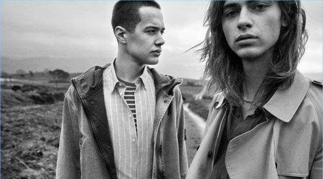 Country Youth: Louis Marzin & Lancelot Prat for VMAN