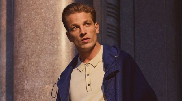 Zara Man enlists Hugo Sauzay as the star of its latest style edit.
