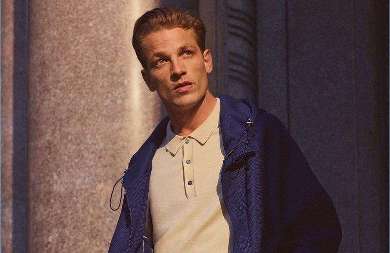 Zara Man enlists Hugo Sauzay as the star of its latest style edit.