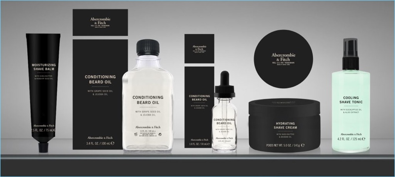 Abercrombie fitch men 39 s grooming collection shop for Abercrombie salon supplies