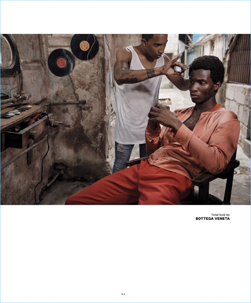 Adonis Bosso Travels to Havana with Essential Homme