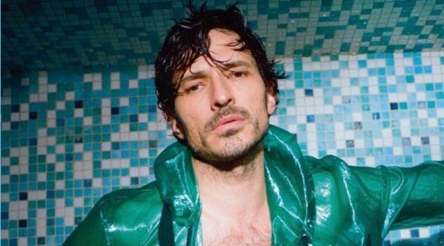 Andrés Velencoso Sports Swimwear for Numéro Homme
