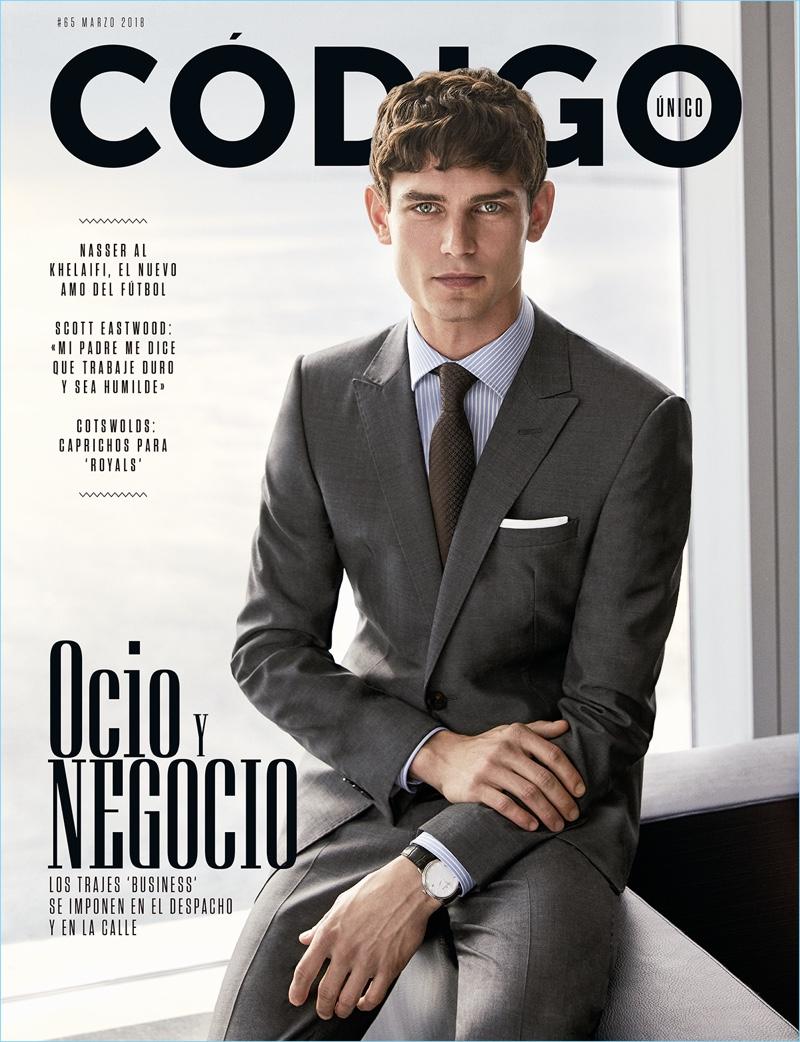 Arthur Gosse Covers Código Único, Dons Sharp Business Looks