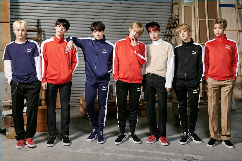 BTS star in a Puma campaign to mark their collaboration.