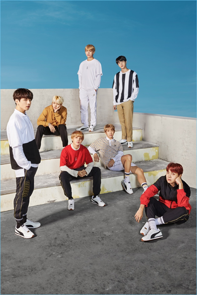 Puma enlists BTS as its latest campaign stars.