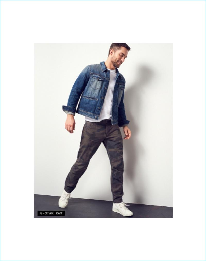 Jacket Required: Tobias Sorensen makes a case for the denim jacket in G-Star Raw.