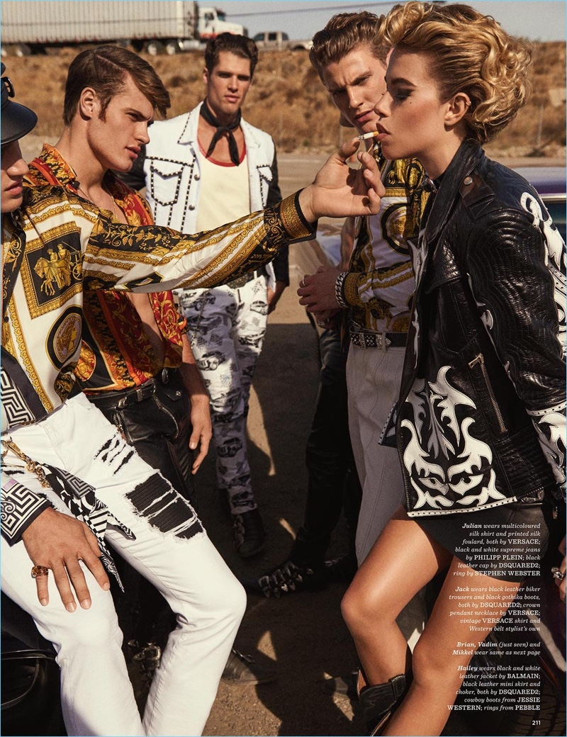 Sons of Aloha: Julian Schneyder, Mikkel Jensen + More for British GQ Style