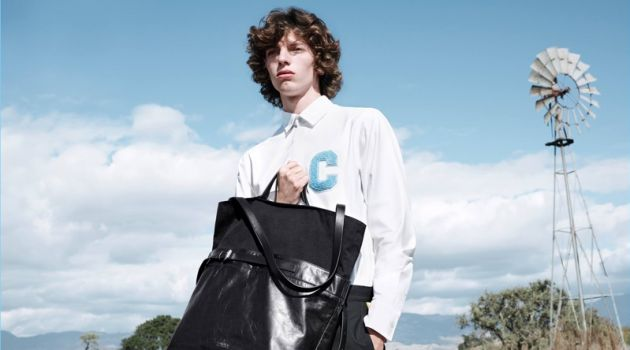 CK Calvin Klein Proposes Varsity Style for Spring '18 Campaign