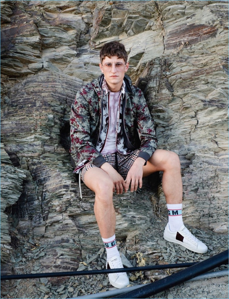 Chris Beek Explores the Outdoors with Best Fashion