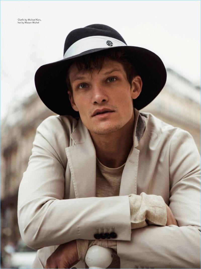 Danny Beachamp Stars in Da Man Style Cover Story