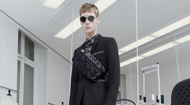Dior Homme Revisits Tailoring for Pre-Fall '18 Collection