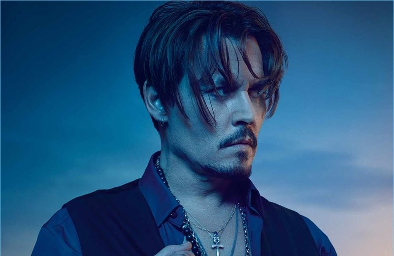 Actor Johnny Depp fronts the fragrance campaign for Dior Sauvage.