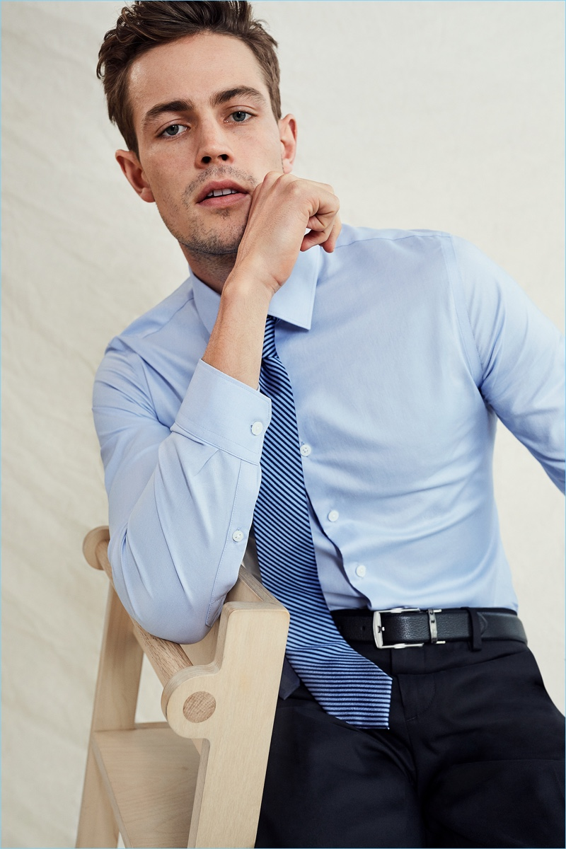 Express men suits shirts spring 2018 shop style for Express shirt and tie