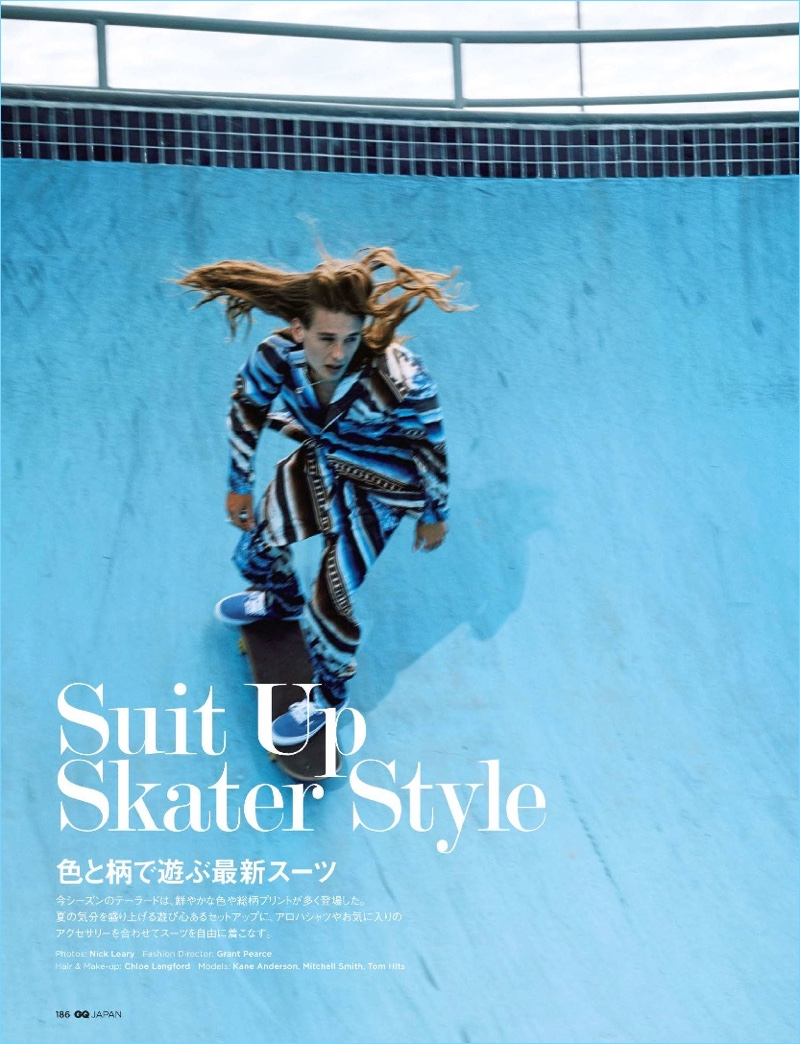 GQ Japan Suits Up Skater Style