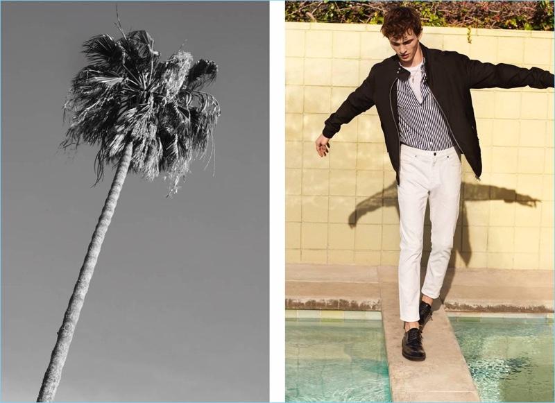 Luc Defont-Saviard H&M Men Spring 2018 Style