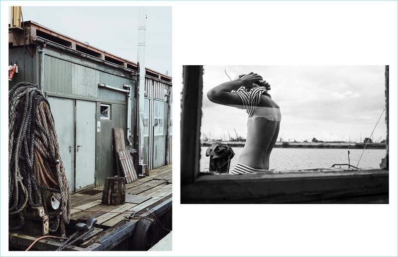 Benjamin Nord Paskin Stars in Hemen Biarritz Spring '18 Editorial