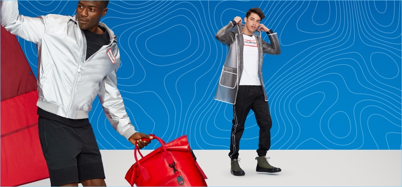 Sporty style reigns for Hunter's Target collaboration.