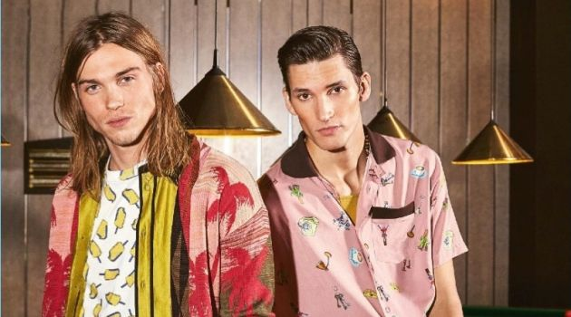 Fear & Loathing: Dominik Bauer & Emil Andersson for InStyle Men Germany