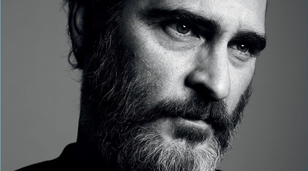 Hedi Slimane photographs Joaquin Phoenix for Interview magazine.