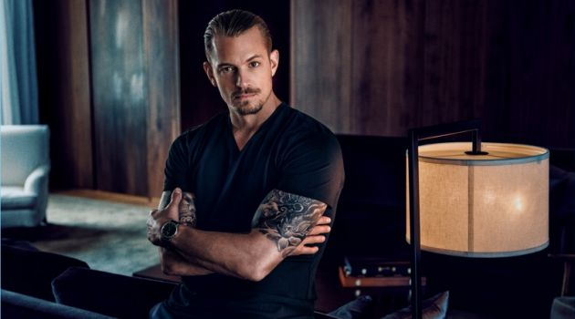 Joel Kinnaman stars in Carl Edmond's debut campaign.