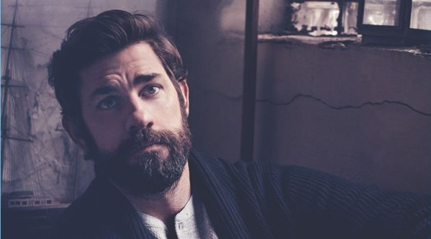 John Krasinski Covers Modern Luxury, Discusses Working with Wife