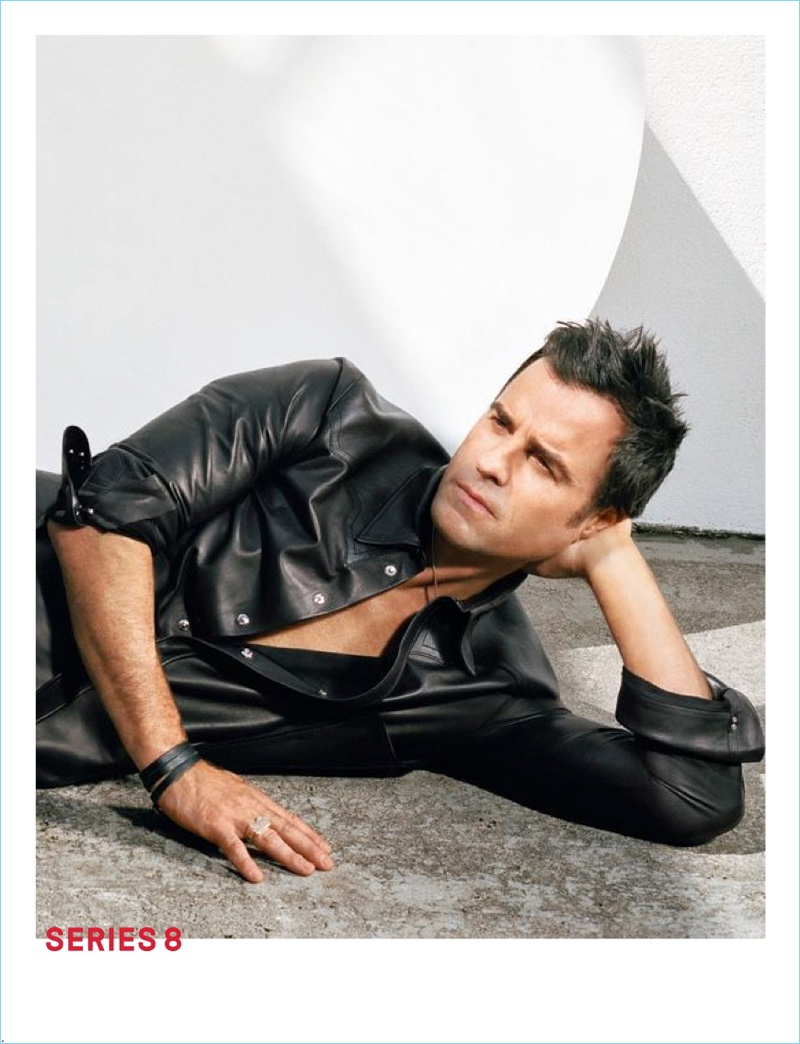 Justin Theroux stars in Louis Vuitton's spring-summer 2018 campaign.