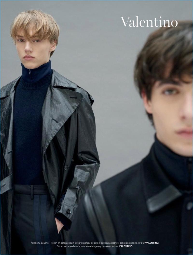 L'Officiel Hommes Paris Previews Fall '18 Collections