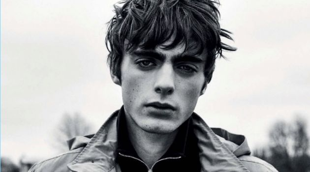 Lennon Gallagher Brings Rebellious Edge to L'Officiel Hommes España