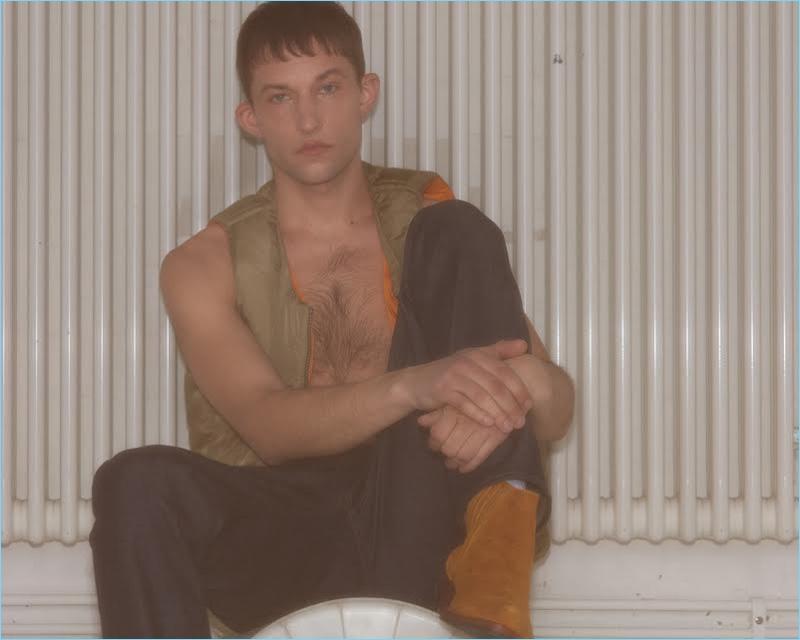 Leo Topalov Delivers Vintage Vibes for Café Magazine