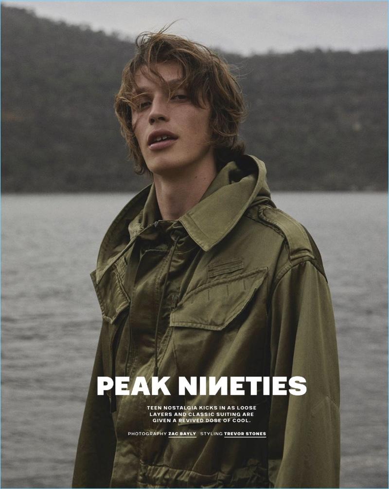 Peak Nineties: Lucas Satherley for GQ Australia