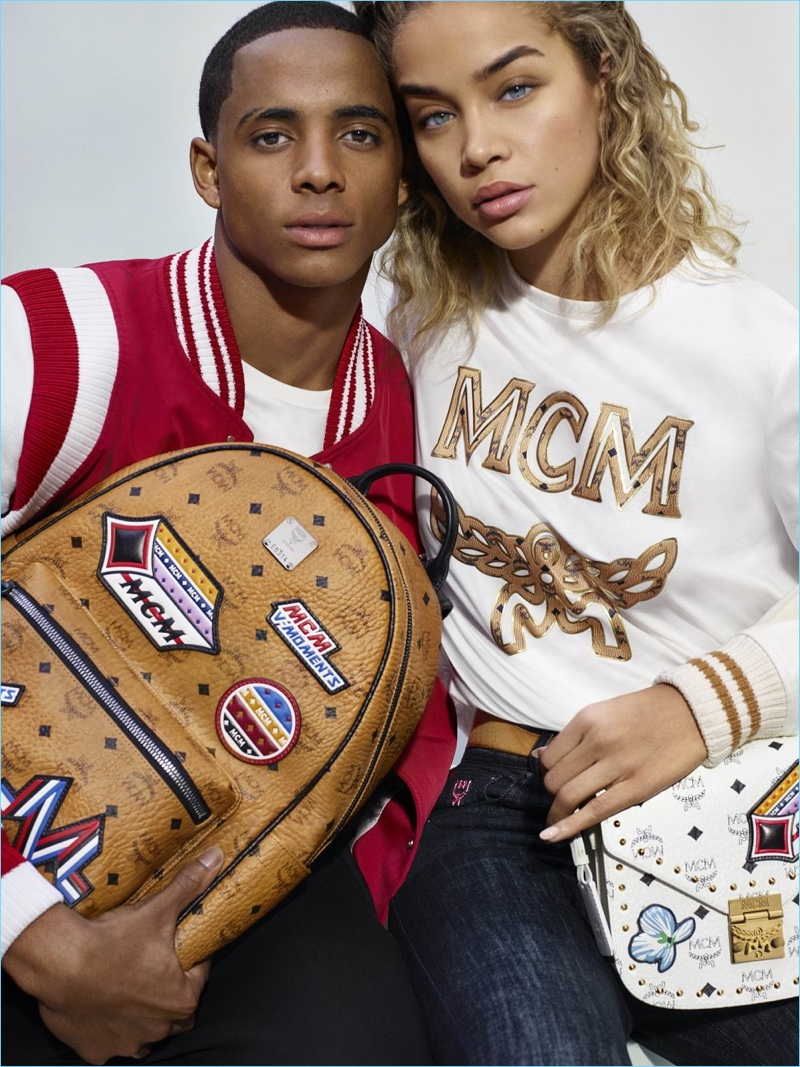 MCM taps Cordell Broadus and Jasmine Sanders for its spring-summer 2018 campaign.