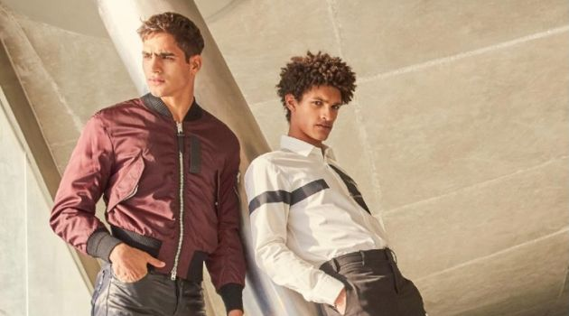 New Garment District: Jhonattan Burjack & Victorien Blagonja for Men's Health UK