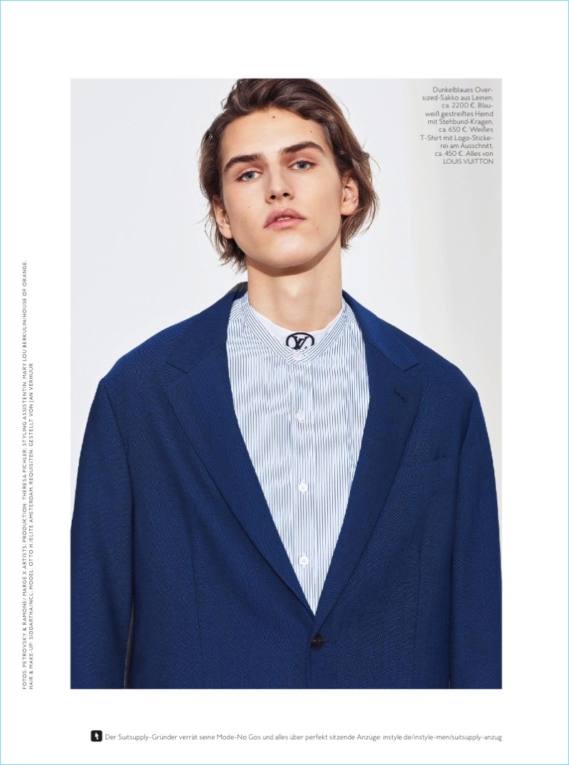 Cool Suiting: Otto H. for InStyle Men Germany