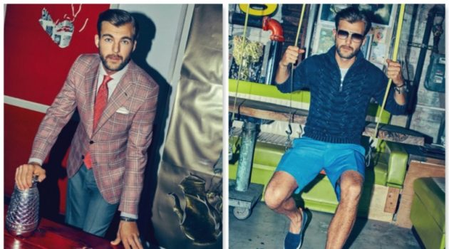 An Artful Approach: Patrick Kafka Dons Spring Fashions for Bergdorf Goodman